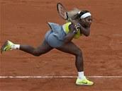 Serena Williamsová bojuje ve druhém kole Roland Garros proti �pan�lce...