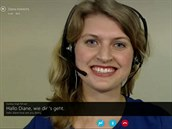Rozhovor mezi německým a americkým zaměstnancem Microsoftu byl ve Skypu v reálném čase překládán.