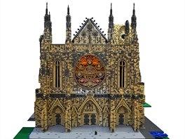 Ujíždíme na kostkách - největší výstava LEGO modelů v ČR začíná. Foto: Chrám...