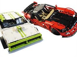 Uj�d�me na kostk�ch - nejv�t�� v�stava LEGO model� v �R za��n�. Foto: auta