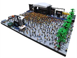 Ujíždíme na kostkách - největší výstava LEGO modelů v ČR začíná. Foto: Rockový...