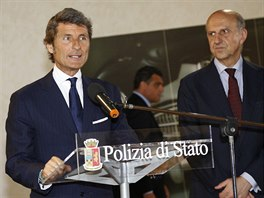 Lamborghini ve slu�b�ch italsk� policie
