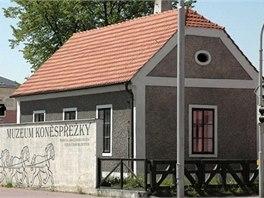 Muzeum koněspřežky sídlí v původním strážním domku