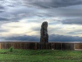 Kamenný pastýř je největší menhir v Česku. Leží asi kilometr od obce Klobouky...