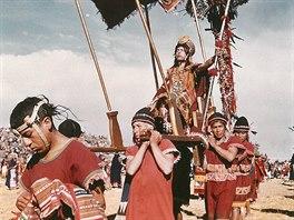Inti Raymi, nejvýznamnější slavnost inků v období zimního slunovratu 24. června.