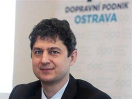 Ředitel Dopravního podniku Ostrava Roman Kadlučka.