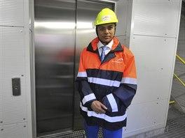 Gener�ln� �editel ArcelorMittal Ostrava Tapas Rajderkar.