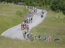 Z KOPCE. Z 11. etapy Giro d'Italia 2014.