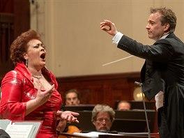 Pražské jaro 2014: Violeta Urmana a dirigent Jonathan Notte