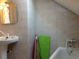 Podoba koupelny odpovídá nabídce na trhu před dvaceti lety.