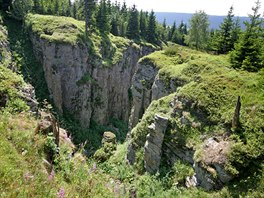 Vl�� j�my na Blatensk�m vrchu v Kru�n�ch hor�ch.