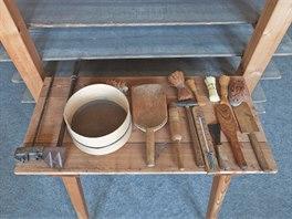 V Muzeu tvarůžků v Lošticích jsou k vidění jedinečné exponáty sloužící k výrobě...