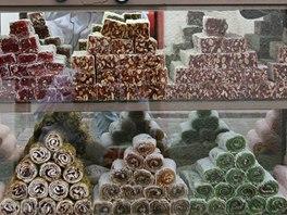 Turecko je velmocí sladkostí, v nichž hlavní roli hrají med, mandle a různé