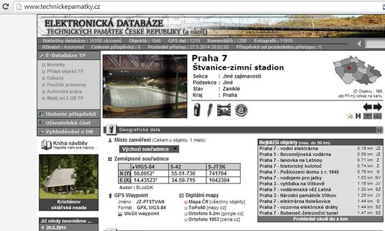 Technick�pam�tky.cz