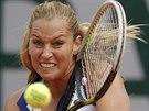 Slovenská tenistka Dominika Cibulková bojuje ve 3. kole Roland Garros.