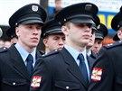 Slavnostní přísaha nových hasičů a policistů v Brně (30. května 2014)