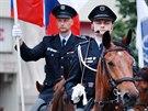 Slavnostn� p��saha nov�ch hasi�� a policist� v Brn� (30. kv�tna 2014)