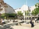 Nové vizualizace ukazují, jak bude místo mezi ulicemi Veselá a Besední vypadat bez koncertního sálu.