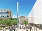 Nov� vizualizace ukazuj� druhou etapu rekonstrukce a nov� koncertn� s�l mezi ulicemi Besedn� a Vesel�.
