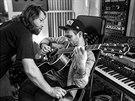 Richard Krajčo a Ido Zmishlany ve studiu Sono během natáčení sedmé studiové...