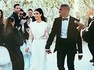 Svatba Kayneho Westa a Kim Kardashianové