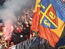 Spar�an�t� fanou�ci si posledn� ligov� z�pas proti Jihlav� u��vali se v��m...