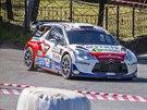 Tomáš Kostka na Rallyesprintu Kopná