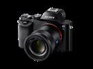 Nová bezzrcadlovka Sony Alfa 7s s OLED hledáčkem
