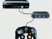 Adaptér propojí Wii U a ovladač z GameCube