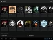 Aplikace Spotify vám umožní nahrát si do smartphonu či tabletu vybranou hudbu...