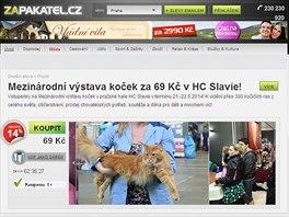 Server s hromadnými slevami Zapakatel.cz mění majitele.