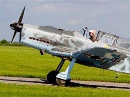Letoun PIlatus P-2 v Pardubicích