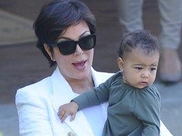 Chris Jennerová a její vnučka North Westová