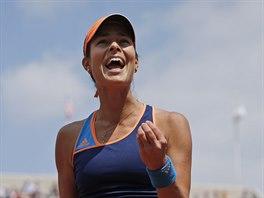 CO JSEM TO PROVEDLA... Srbská tenistka Ana Ivanovičová lituje prošvihnutého...