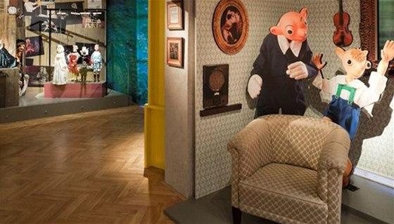 Prohlídka muzea loutek vás seznámí s významným loutkohercem Josefem Skupou,