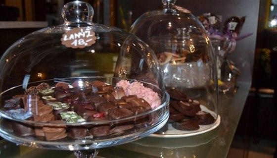 V třebenické Čokolaterii ochutnáte ručně vyráběné lanýže