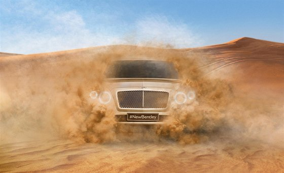 Skica nového SUV Bentley