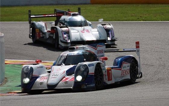 V TOYOTĚ. Jan Charouz bude v Le Mans jediným Čechem, který se zúčastní bitvy