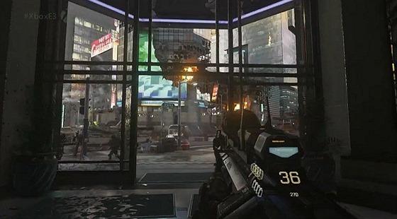 První předvedenou hrou je střelnice Call of Duty: Advanced Warfare. Microsoft má zajištěnou časovou exkluzivitu.