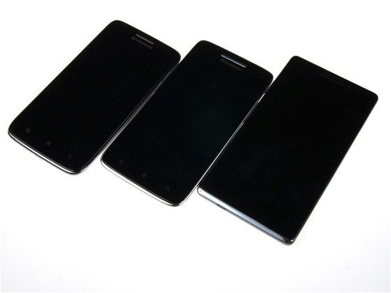 Lenovo Vibe X mini, Vibe X a Vibe Z