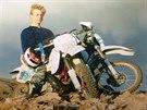 Bowe Bergdahl na sn�mku z dob, kdy jako mlad�k ��dil na motorce po Idahu