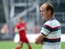 Bývalý reprezentant a nyní trenér brněnských juniorů Richard Dostálek.