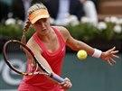 Kanadská tenistka Eugenie Bouchardová hraje ve čtvrtfinále Roland Garros.
