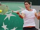 Španělská tenistka Carla Suarézová hraje ve čtvrtfinále Roland Garros.