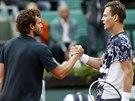 GRATULUJU! Český tenista Tomáš Berdych prohrál ve čtvrtfinále Roland Garros s...