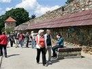 Výstava u hradeb Chebského hradu