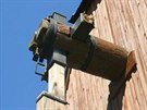 Poničený historický mlýn na Hodonínsku.