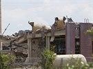Výbuch byl slyšet v okruhu deseti kilometrů (6. června)