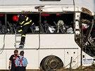V autobuse cestovaly děti ze Sportovního gymnázia Jozefa Herdu v Trnavě (6....