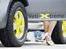Škoda Yeti Xtreme pohání přes dvouspojkový šestistipňový automat s pomocí...